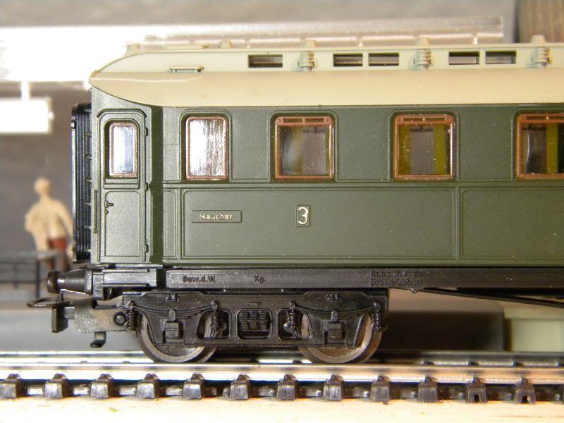 Kleinbahn 384 D-Zugwagen 1910 grün 8700164qew
