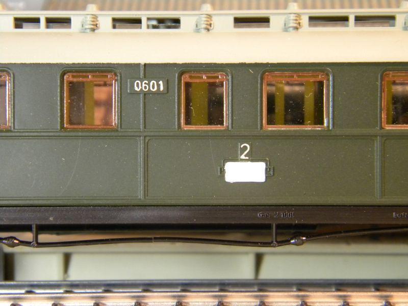 Kleinbahn 384 D-Zugwagen 1910 grün 8700165kns