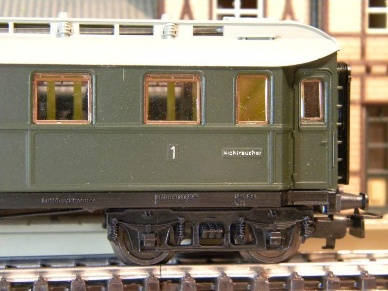 Kleinbahn 384 D-Zugwagen 1910 grün 8700166aow