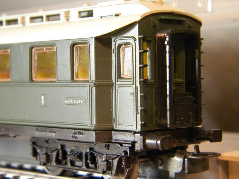 Kleinbahn 384 D-Zugwagen 1910 grün 8700167vbf