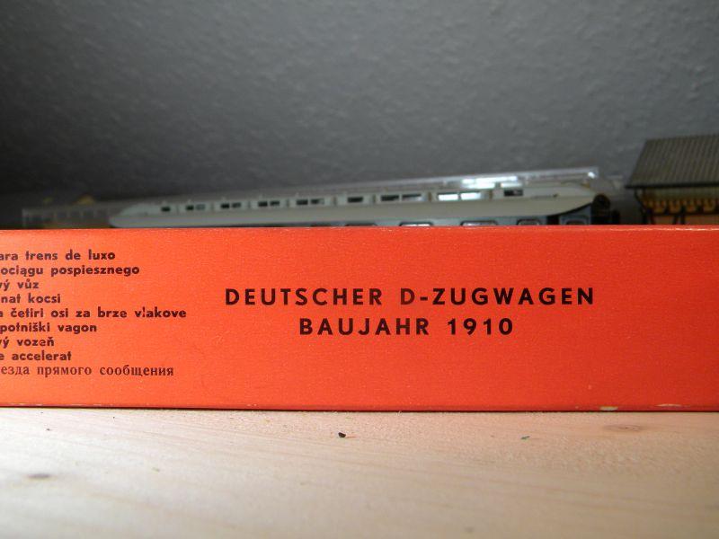 Kleinbahn 384 D-Zugwagen 1910 grün 8700168alg