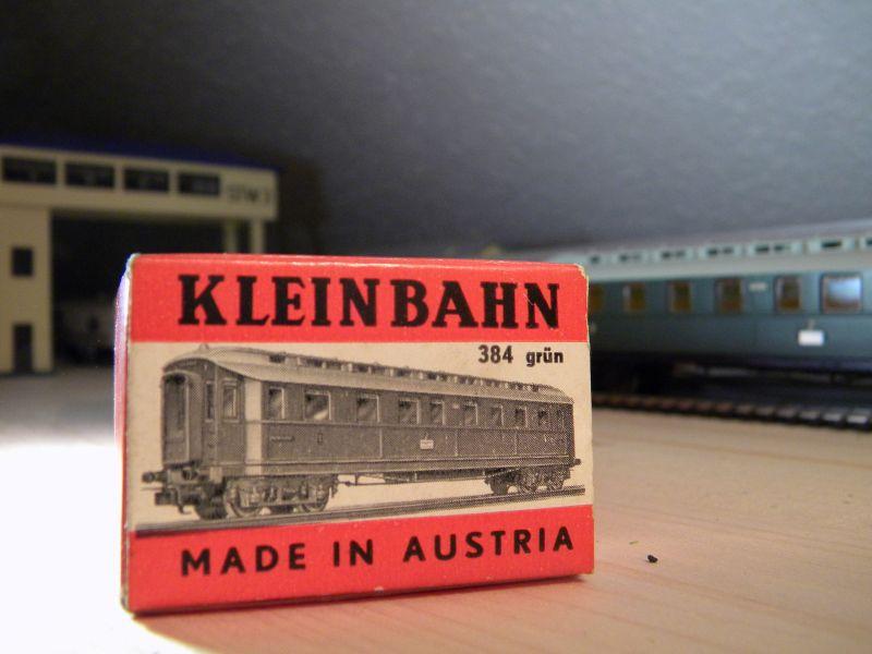 Kleinbahn 384 D-Zugwagen 1910 grün 8700169xot