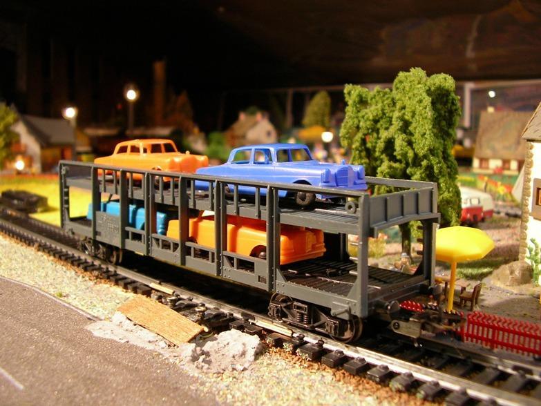 Auto- und LKW Transportwagen 8724797dok