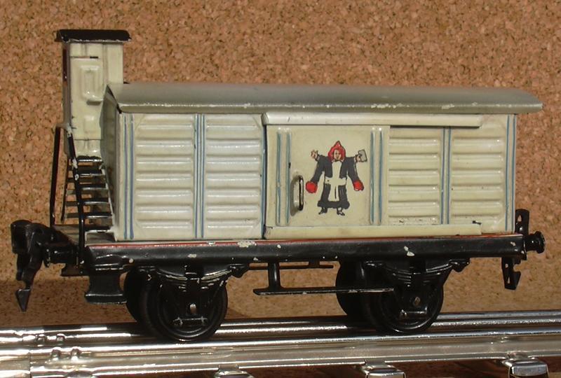 Märklin Bierwagen Spur 0, 1988, handlackiert 8771011jsr