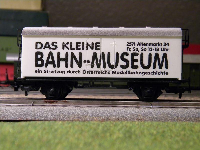 Das Kleine Bahn-Museum: Österreichs Modellbahngeschichte 8798289qeh