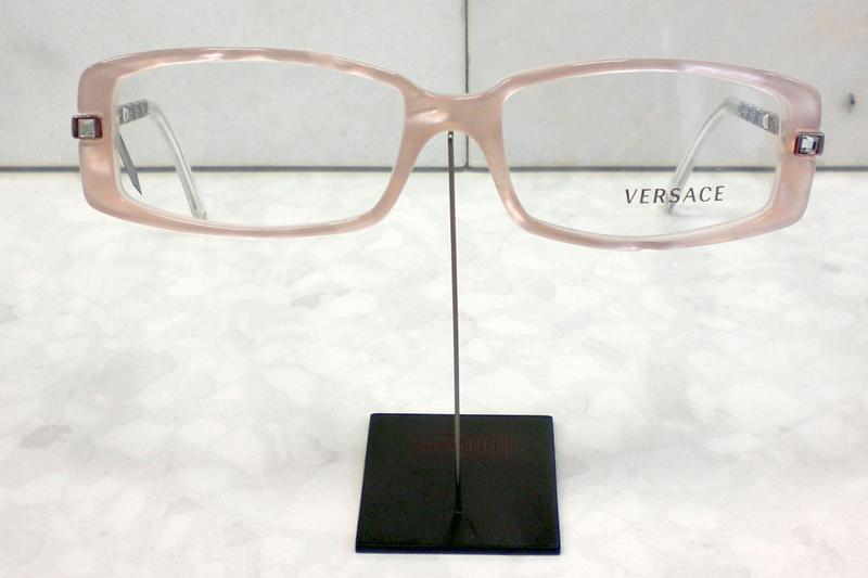 original versace brille fassung 3113 b farbe 808 rosa ebay. Black Bedroom Furniture Sets. Home Design Ideas