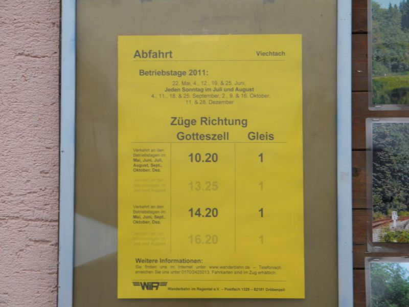 Regentalbahn Viechtach 8832080chz