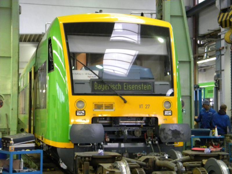 Regentalbahn Viechtach 8832153wez