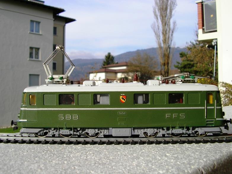 Kleinbahn Ae 6/6 11404 SBB 8855640wka