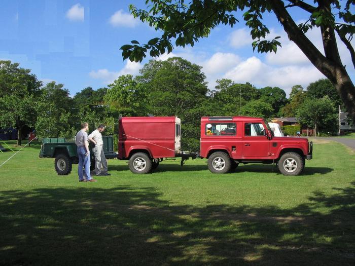 Elektrische Anhängerbremse - Viermalvier.de, das Geländewagenportal