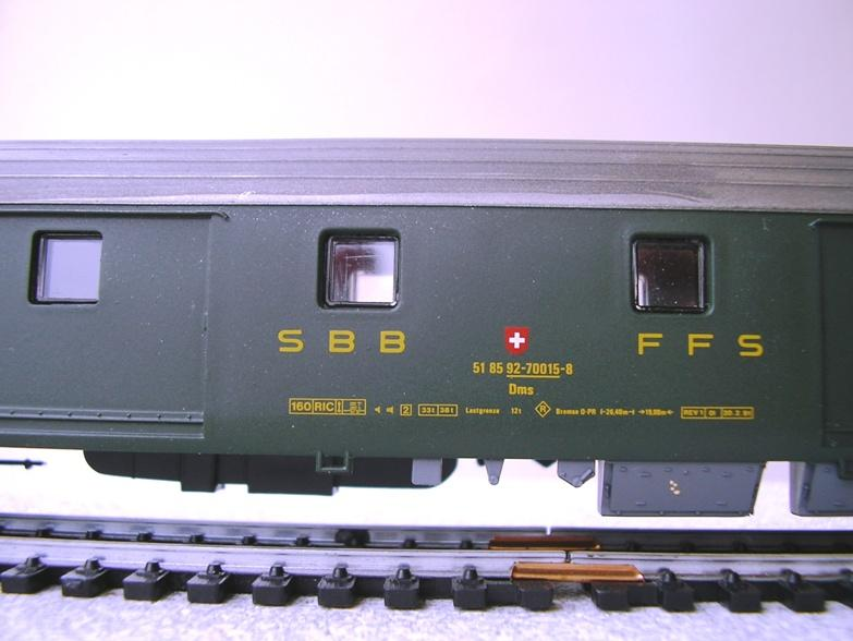 Jouef SBB Personenwagen 9009253oug