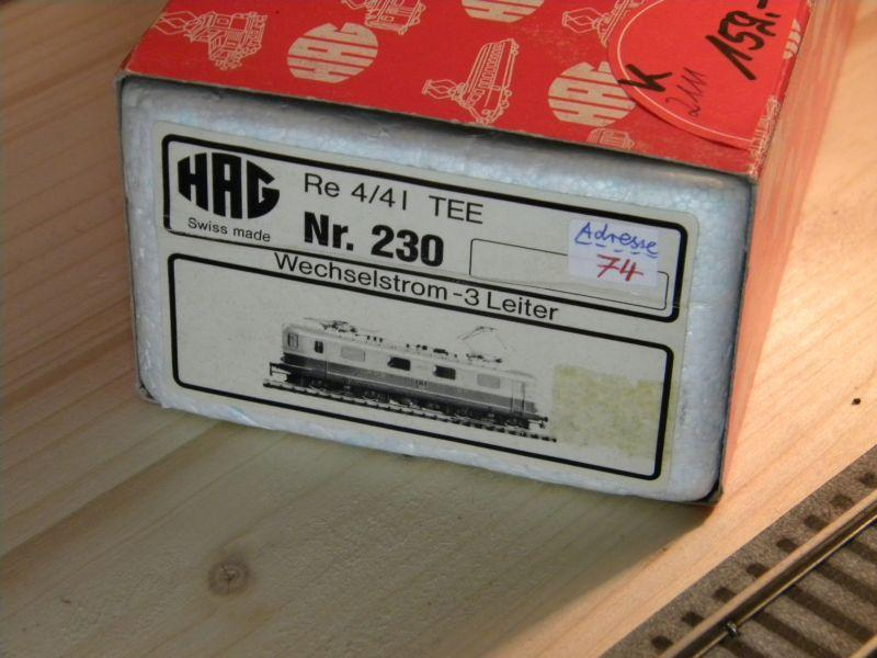 HAG SBB Re 4/4 I 10035 9014813qsf