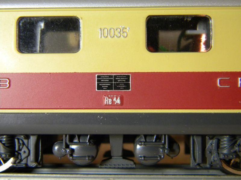 HAG SBB Re 4/4 I 10035 9014821ymc