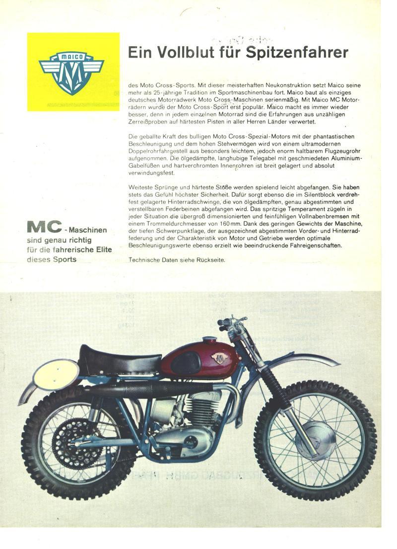 maico mx 360 1960 klassische motorr der offroadforen community. Black Bedroom Furniture Sets. Home Design Ideas