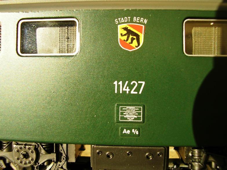 SBB Ae 6/6 9093287tjh