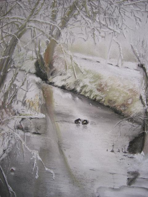 Wintertraum (Pastellkreide) 9138414zrc