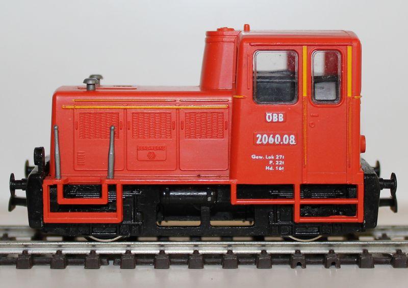 Die 2060 von Kleinbahn bringt eine neue Werkslok 9204245wth