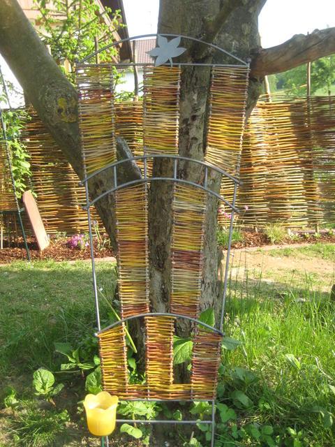 sichtschutz weide selber bauen – rekem, Garten und Bauen