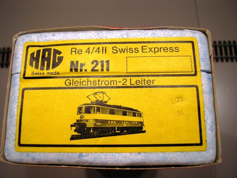 HAG SBB Re 4/4 II Swiss Express 9361543zie