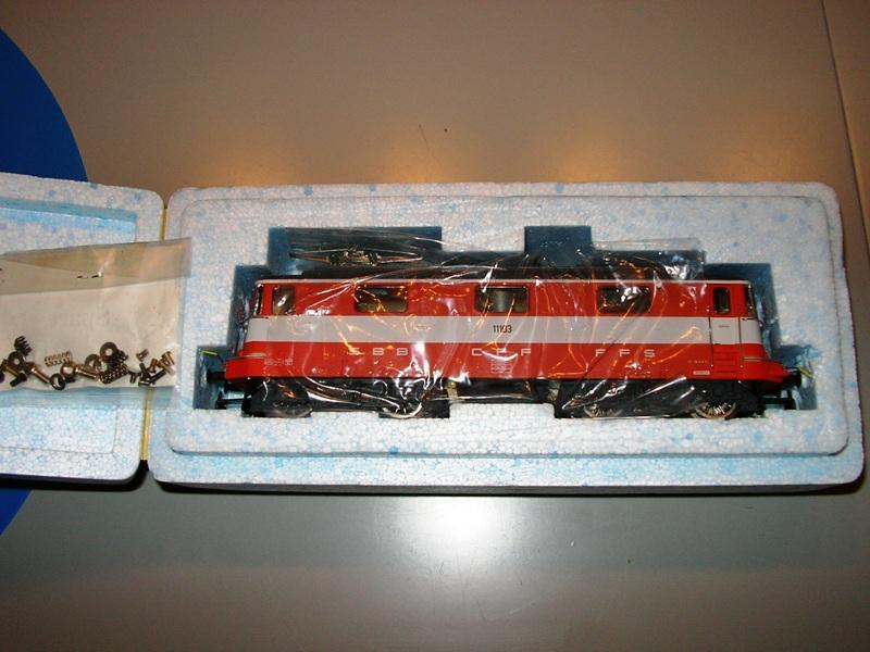 HAG SBB Re 4/4 II Swiss Express 9361544apt