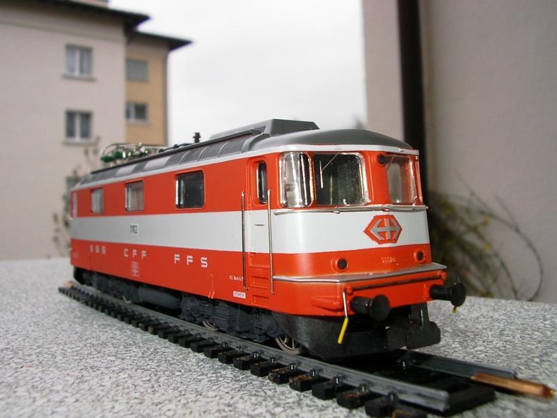 HAG SBB Re 4/4 II Swiss Express 9361545nwn