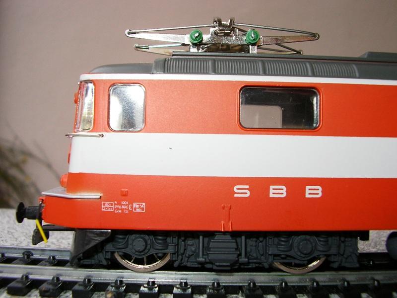 HAG SBB Re 4/4 II Swiss Express 9361547uwg