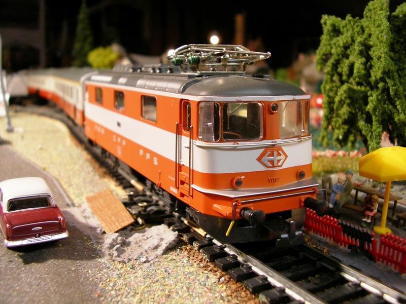 HAG SBB Re 4/4 II Swiss Express 9361572gnj