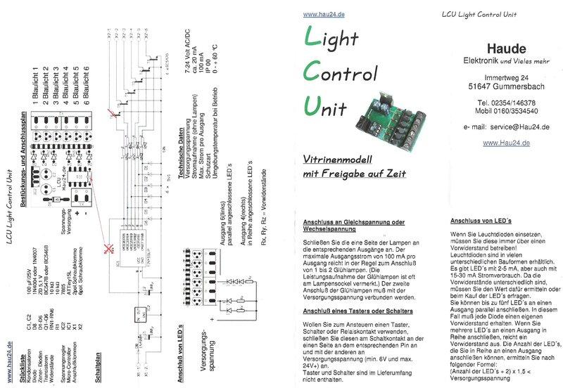Blink/Blitzlichtmodul - Tipps und Tricks aus der Modellbauwerkstatt ...