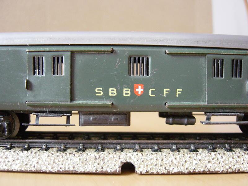 Leichtschnellzug-Gepäckwagen SBB (Art.Nr. 348/4) 9434246eko