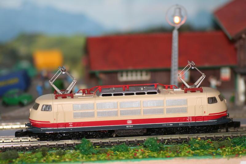 DB 103 118 - 6, Die schnellste Lok der Deutschen Bundesbahn 9553450mek