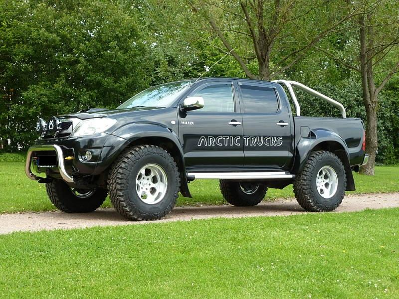 Das Offroad Forum: Toyota Hilux Arctic Trucks AT37