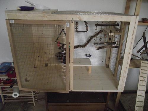 projekt voliere k fig vwfd wellensittich forum. Black Bedroom Furniture Sets. Home Design Ideas