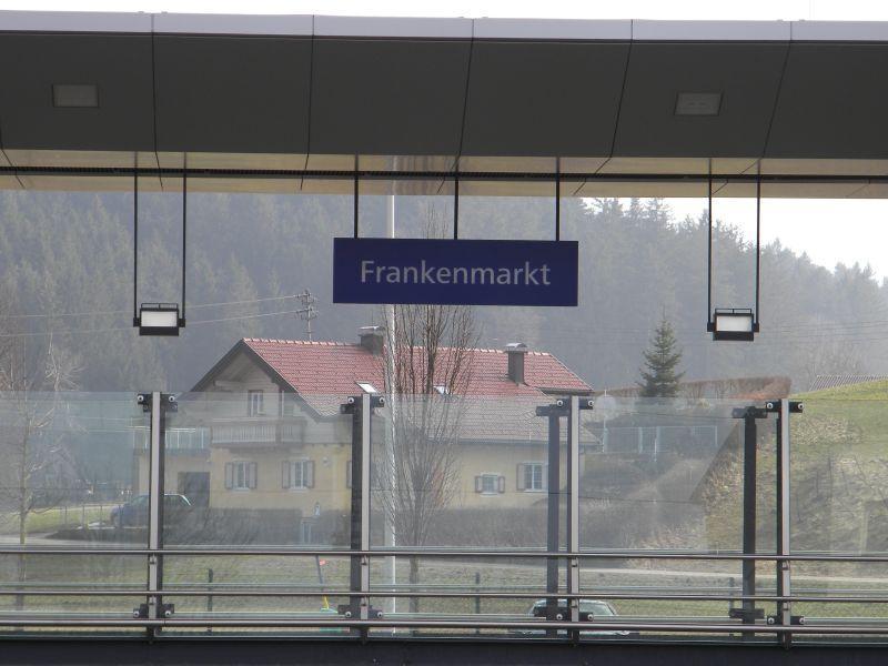 Bahnhof Frankenmarkt 9775603oby