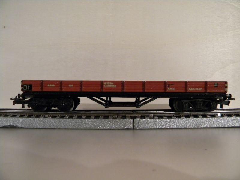 4achsiger Niederbordwagen ArtikelNr 391 9775957xkg