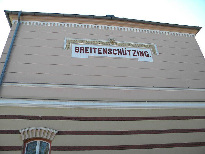 Bahnhof Breitenschützung 9783577mhh