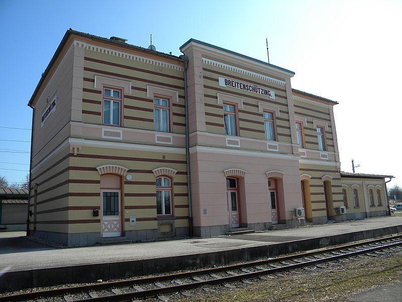 Bahnhof Breitenschützung 9783642qil