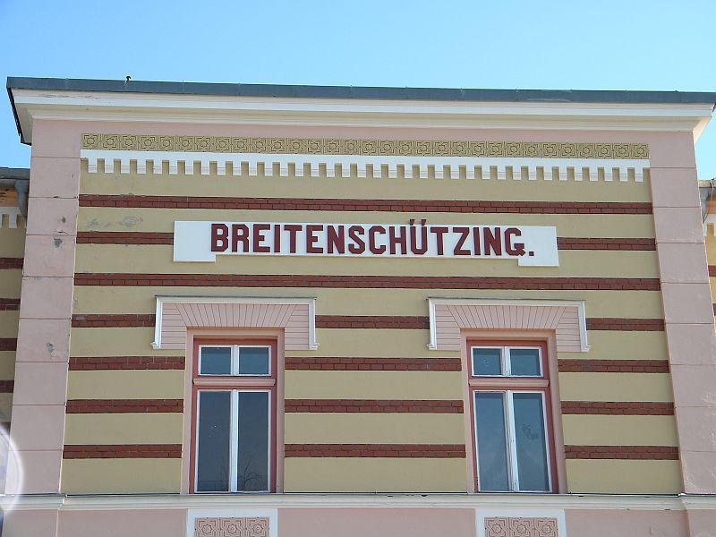 Bahnhof Breitenschützung 9783643iwz