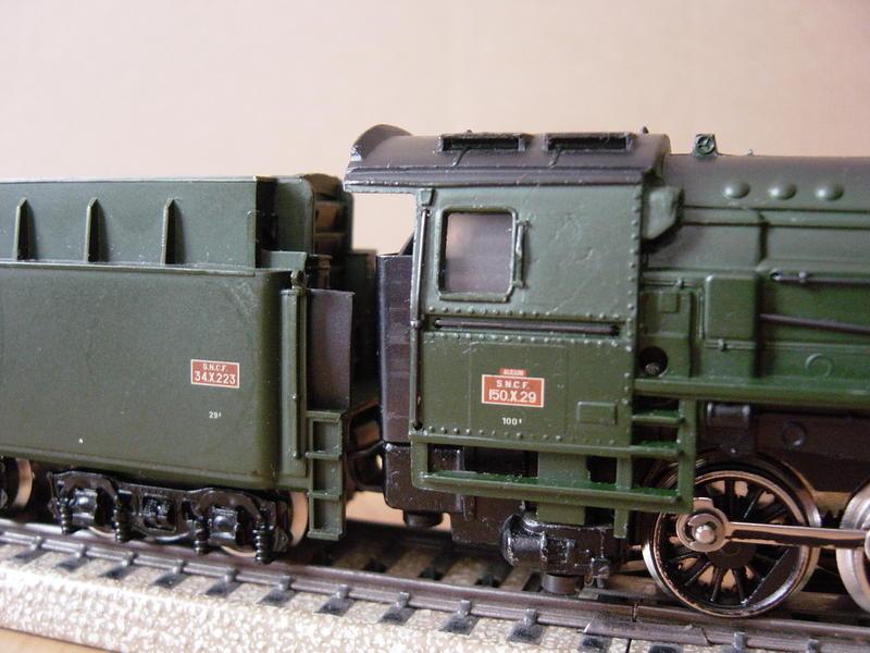 Güterzuglokomotive Baureihe 150 X der SNCF (Art.Nr. 3046) 9924130fks