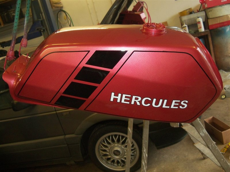 RE: Hercules Ultra 80 Neuaufbau - Forum der Hercules-IG e.V.