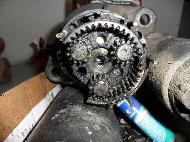 Lieblings Anlasser Reparatur mit Bild - Teilenummer Bürstenhalter? - #XD_33