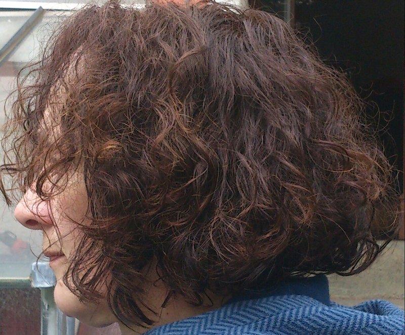 Dauerwellen haare kaputt