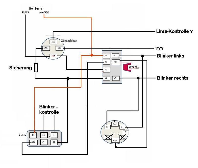 schaltplan schlepper beleuchtung automobil bau auto systeme. Black Bedroom Furniture Sets. Home Design Ideas