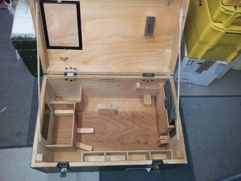 Gut gemocht Motorsägenkiste selber bauen • Motorsägen-Portal QM45