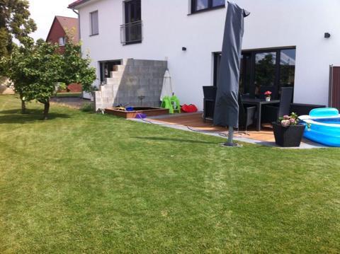 Fabulous Terrassentrennwand - Wie verschönern ? - Mein schöner Garten Forum EI18
