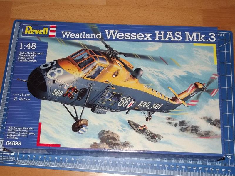 Revell Hubschrauber Wessex HAS Mk.3 im Maßstab 1:48 Bausatz