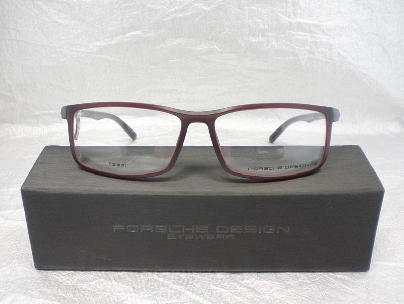 PORSCHE Design Porsche Design Herren Brille » P8228«, rot, D - rot