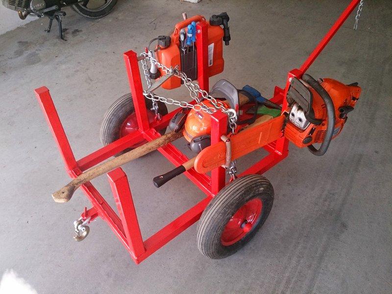 Geliebte Eigenbau-Holztrolley aus Konstruktionsholz bauen? • Motorsägen-Portal #TG_71