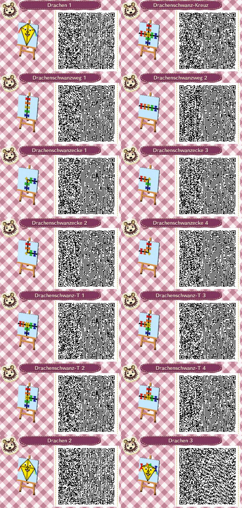 Drachen Basteln Leicht Gemacht Nintendo 3ds Qr Codes