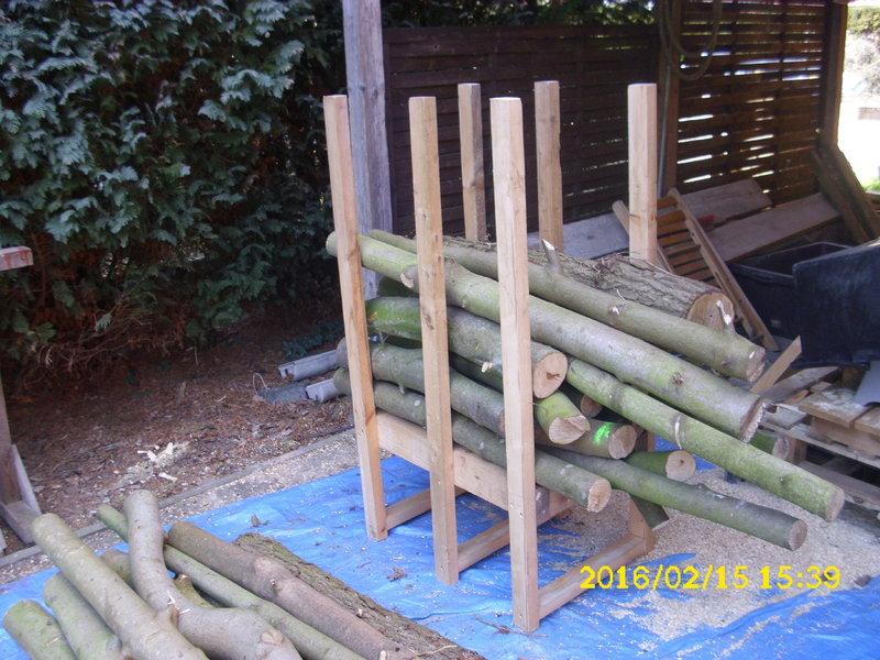 Bevorzugt Anleitung Sägebock selber bauen • Motorsägen-Portal JN02