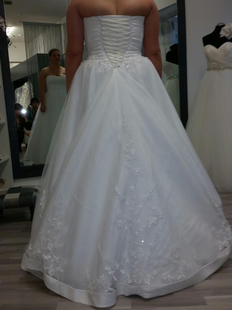 Mein Kleid - nach Änderungen der Horror! - Hochzeitsforum von